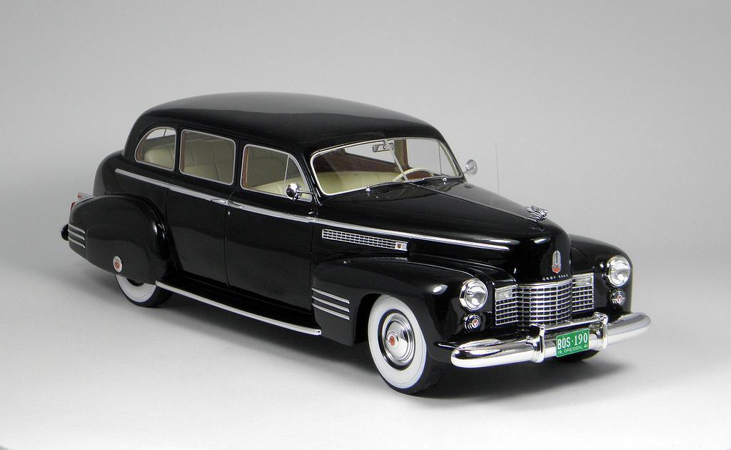 Bos Model S 1941 Cadillac Fleetwood 75 Touring Sedan Diecast And Resincast Models Model Cars