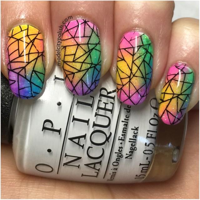 Rainbow Nails 1