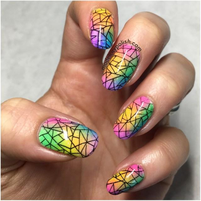 Rainbow Nails 3
