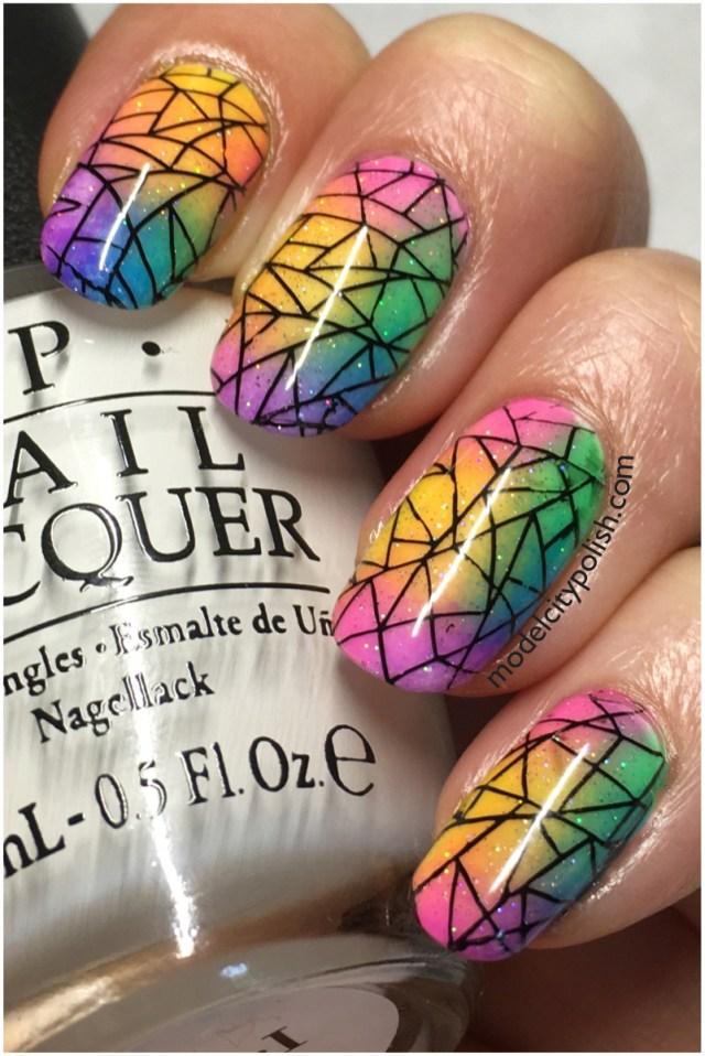 Rainbow Nails 4