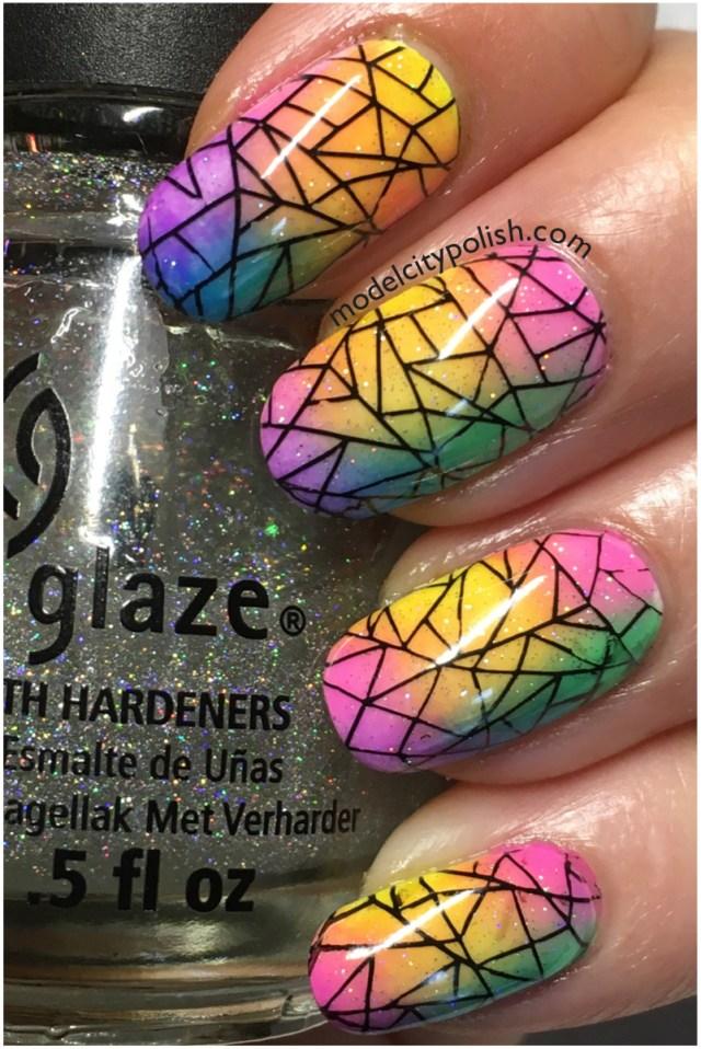 Rainbow Nails 6