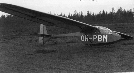 PIK-5 OH-PBM / Loimaa Aviation club