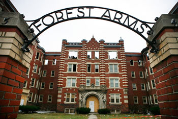 Forest Arms Apartments To Get New Lease On Life Developer S Midtown Property