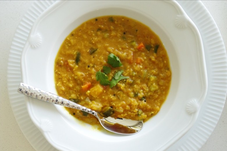 One Pot Indian Vegetable Dal