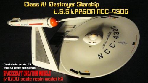 USS Larson destroyer box art