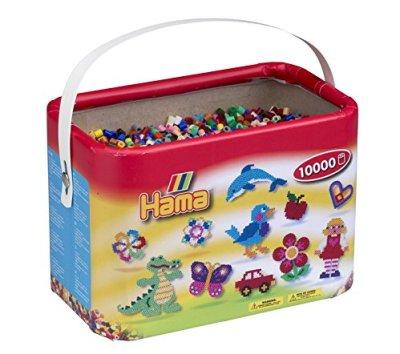 Hama-10202-67DE-Baril-de-10-000-Perles--Repasser-22-couleurs-0