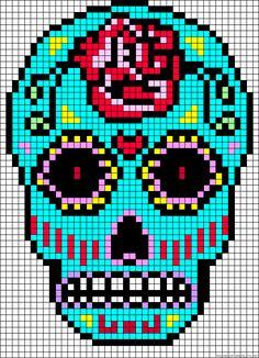 mexican-skull-perler-beads-hama