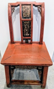**ITEM NOW SOLD** Antique Chinese child's chair. 250.-