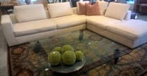 """**ITEM NOW SOLD** B&B Italia MaxAlto Omnia two-piece sectional. Purchased from DIVA in 2013. 10' 11"""" x 9'. Orig. List: $19,046. Modele's Price: 7950.-"""