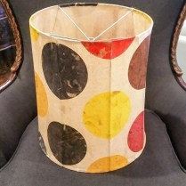 ** ITEM NOW SOLD.**Jill Smith Custom Lampshade. Approx 10 years old. 125.-