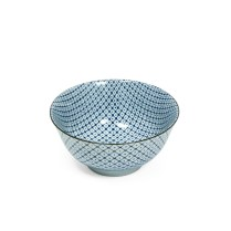 Shibori Tiedie donburi bowl. 8.95