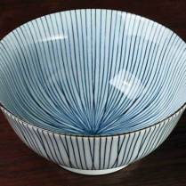"Sensuji Line donburi bowl. 6"" dia. 9.25 each-"
