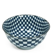 Itchimatsu checker donburi bowl. 8.95
