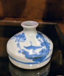 Small Japanese bud vase. 15.-