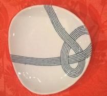 """Ito Tsumugi small plate. """"Knot"""" plate. 6.- each"""