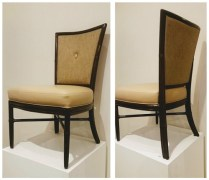 **ITEM NOW SOLD**McGuire Dining Chairs . $1195. Set/4