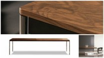 **ITEM NOW SOLD**Minotti 'Jorn' Table. Original Retail Price: $12,199. Modele's Price: 3,500.