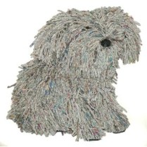 Roost Co. 'Rascal' Recycled Newspaper Dog. 135.-