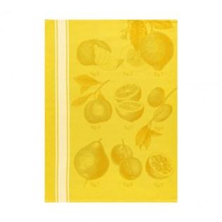 Le Jacquard Francais tea towel 'Citron'. 100% cotton. 24.-