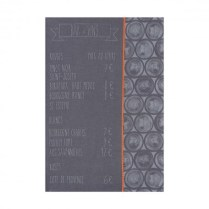 Le Jacquard Francais tea towel. 'Bar a vin'.100% cotton. Zinc 17.-