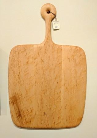 "Edward S. Wohl cutting board.21.5"" x 33.5"" 295.-"