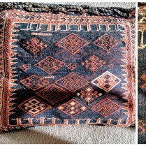 **ITEM NOW SOLD**Camel Bag Pillow from Turkey. 145.-