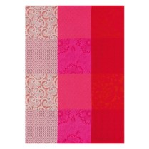 "Le Jacquard Francais, ""Fleurs De Kyoto' Cherry. Traditional Tea Towel. 100% cotton. 24.-"