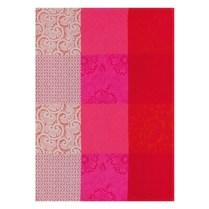 """Le Jacquard Francais, """"Fleurs De Kyoto' Cherry. Traditional Tea Towel. 100% cotton. 24.-"""