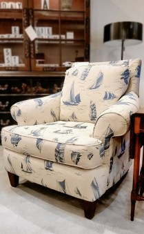**ITEM NOW SOLD**Nautical theme Club Chair. 295.-