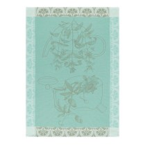 Les Jacquard Francais Traditional Tea Towel. Vervain. 100% cotton. 24.-