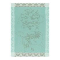 Les Jacquard Francais Traditional Tea Towel. Vervain. 100% cotton. 24.-