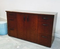 **ITEM NOW SOLD**Coriander Credenza. Custom Built. Original Price: $4,400.- Modele's Price: 1395.-