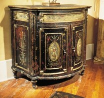 "Habersham 'Oxfordshire Comode"" with drawer. Current List Price: $5720.- Modele's Price: 995.-"