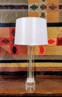 **ITEM NOW SOLD**Restoration Hardware Table Lamp. 3 way switch. Discontinued Model. 150.-