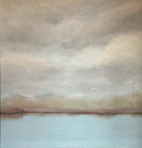 """**ITEM NOW SOLD**'Overcast' 36"""" x 36"""" Acrylic on Canvas 1300.-"""