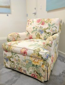 **ITEM NOW SOLD**Chintz Armchair