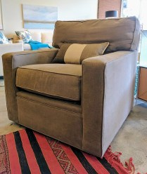 **ITEM NOW SOLD** 200 Series Stickley Swivel Chair. Original List: $2660.- Modele's Price:1250.-