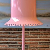 **ITEM NOW SOLD**Moooi ( Dutch Company) 'Lolita' Table lamp. Injected molded ABS shade with polyurethane base. lamp shade can be adjusted to 45° angle.Original Price: $1403.-. Modele's Price: 695.-