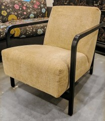 **ITEM NOW SOLD**Porada 'Gilda' armchair. Purchased from Seva in 2005. Current List: $1875.- Solid cherry frame in Wenge stain.Modele's Price: 895.-
