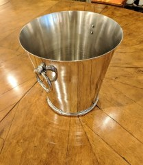 **ITEM NOW SOLD**Michael Aram 'Bamboo' collection ice bucket. Discontinued style. 125.-