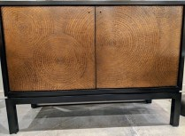"""**ITEM NOW SOLD** Crate & Barrel 'Cirque' sideboard. 7 years old, adjustable interior shelves. 47.5""""w x 19.25""""d x 34""""h Current List: $1,149. Modele's Price: 595.-"""