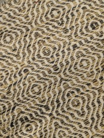 """**ITEM NOW SOLD** Flat weave rug, one year old. Purchased from Big Daddy. Just professionally cleaned. 61.75"""" x 89"""" Orig. List: $900. Modele's List: 425.-"""