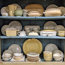 **ITEM NOW SOLD** Vietri Cucina Fresca dinnerware, Italian ceramics. 57 pc. set with a few pieces by Amalfi and Patronelli. 550.- set