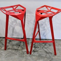 "**ITEM NOW SOLD** Pair Magis bar stools, designed by Konstantin Gric. Purchased from DWR 2years ago. Seat height: 30.25"" Current List: $840. pair Modele's Price: 450.- pr."