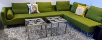 """**ITEM NOW SOLD** Bensen 2 pc. 'Canyon' sectional. Purchased from Inform in 2009. Designed by Niels Bendtsen, made in British Columbia. 121"""" x 86"""" x 30""""h. Current List: over $7,500. Modele's Price: 2750.-"""