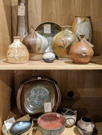 Collected vintage Northwest pottery pieces. Prices vary: 30.- to 175.-