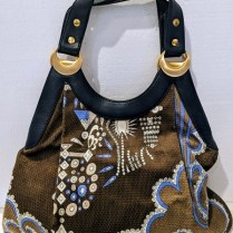 Emilio Pucci handbag, barely used, if at all. Orig. price: approx. $1000. Modele's Price: 295.-