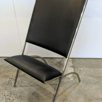 """Vintage Pallucco 'Gabriells' chair, designed by Gio Ponti in 1971. Purchased from Current in 1971. 23.25""""w x 24""""d x 40""""h. 1895.-"""