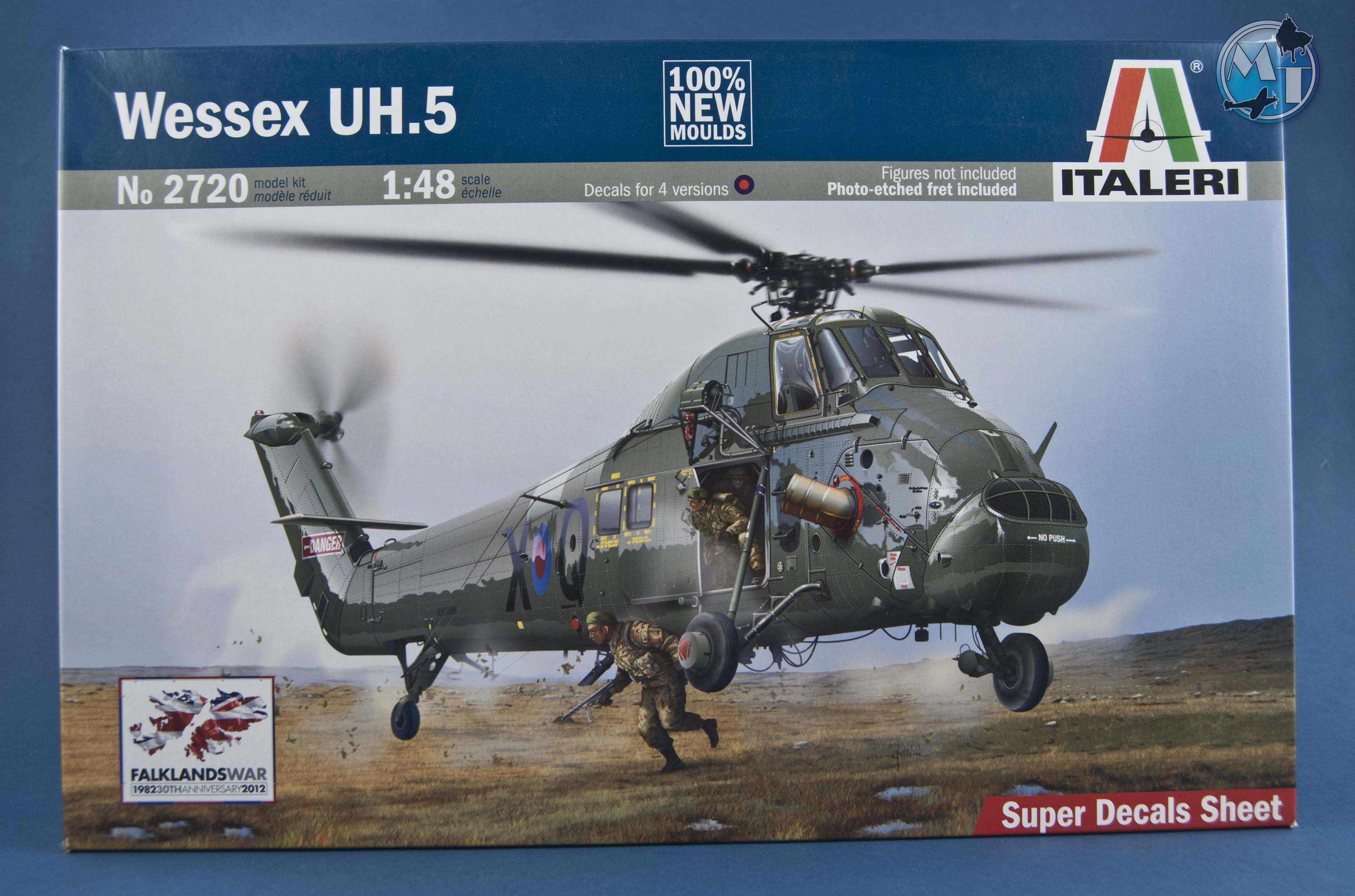 Elicottero Wessex : Kit review wessex uh italeri in scala modeling time