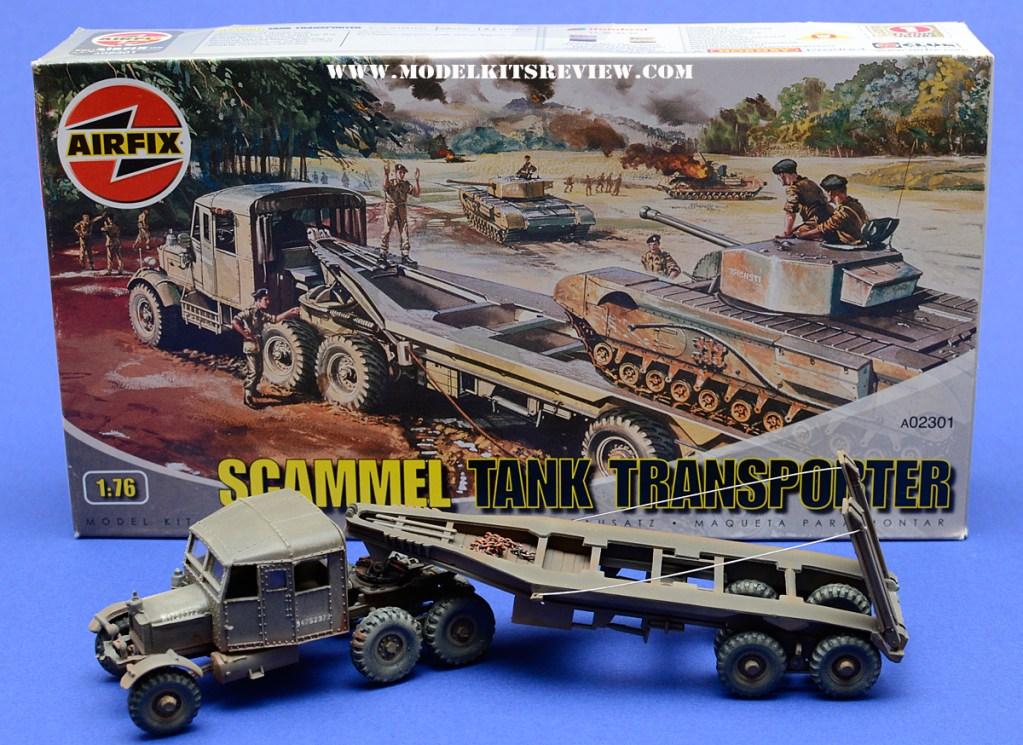 176 Scale Scammel Tank Transporter Review Model Kits Review